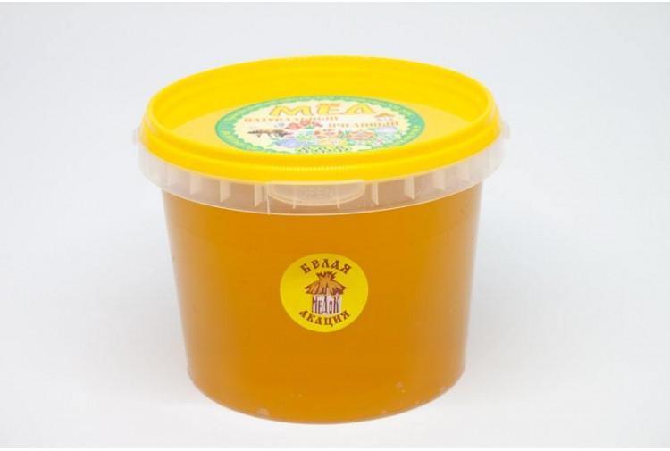Мёд белая акация - 1100гр.