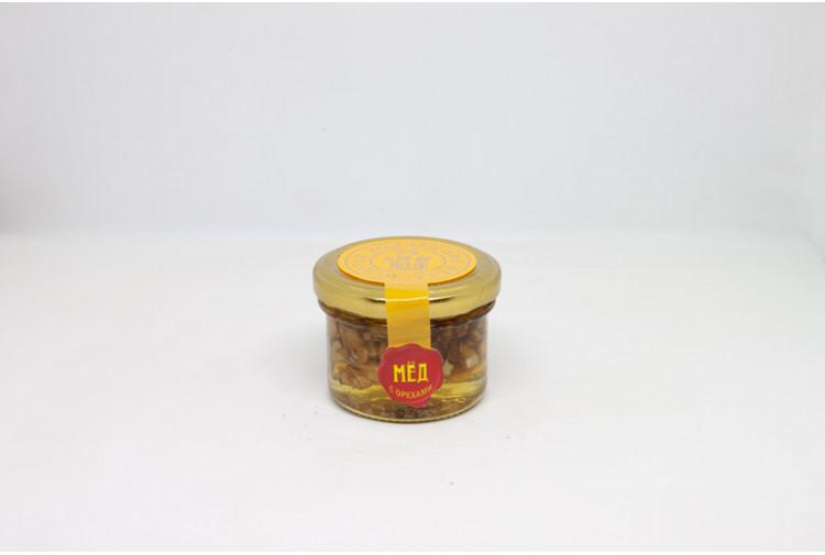 Мёд с орехами - 110 гр.