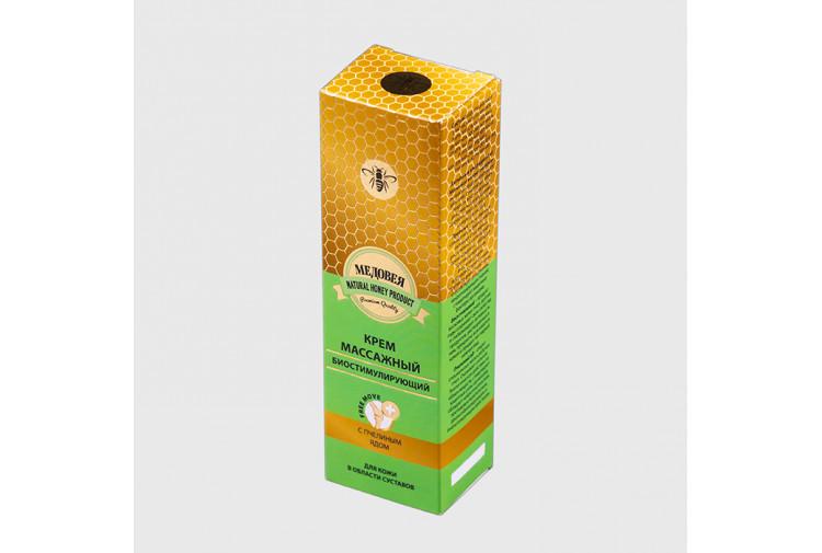 Крем с пч.ядом «Медовея» для кожи в области суставов массажный